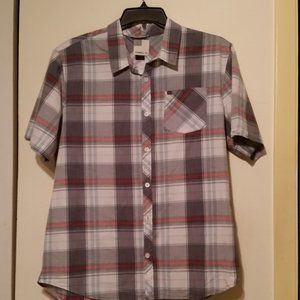 O'Neill short sleeve button up front pocket